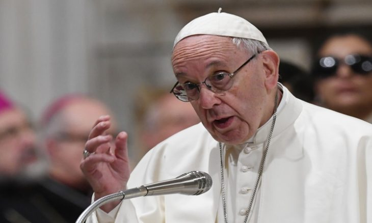 بابا الفاتيكان: لا يجب اعتبار الإجهاض من حقوق الإنسان