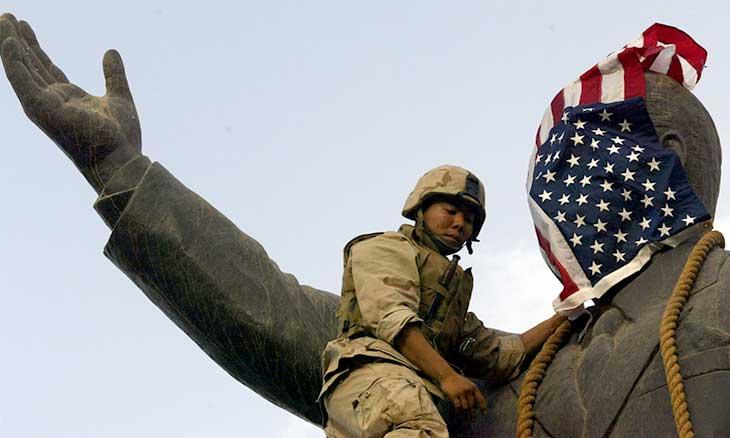 انقسام بين العراقيين حول سقوط صدام… وضابط سابق: الجيش كان منهكا ولم نملك سوى الأناشيد %D8%A7%D9%84%D8%B9%D8%B1%D8%A7%D9%82-%D8%A7%D9%84%D8%B0%D9%83%D8%B1%D9%89