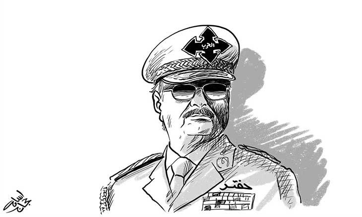 الجنرال الليبي المنشق خليفة حفتر