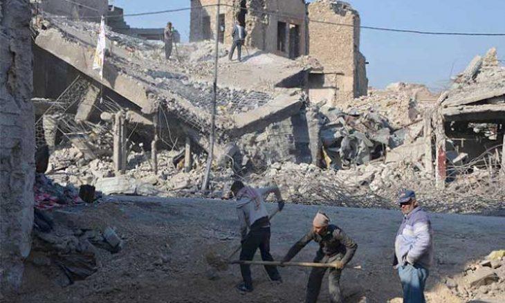 استمرار معاناة نازحي مخيمات الموصل وشمال العراق 15ipj-3-730x438
