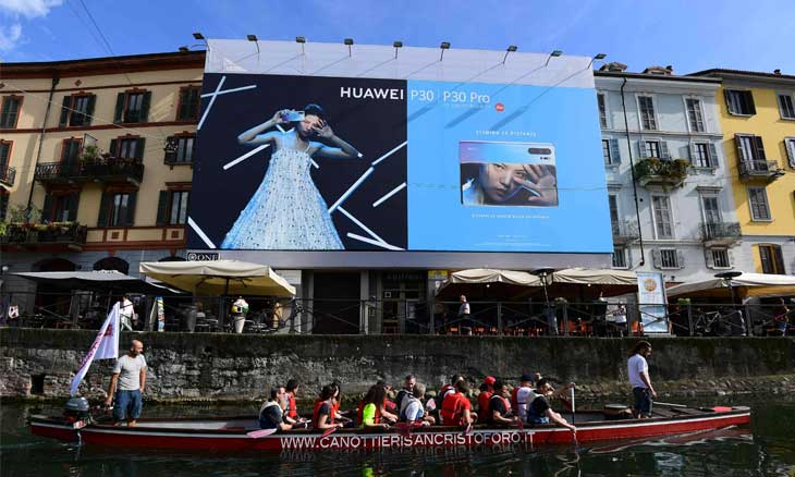 The scenes of the Western war against the Chinese telecom giant «Huawei»