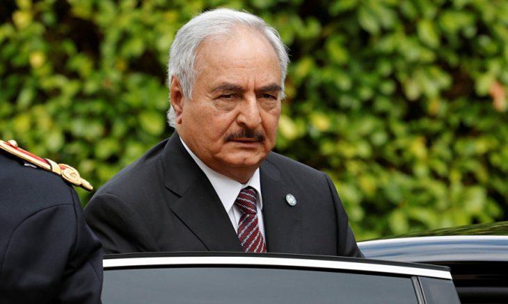 """حفتر لماكرون: شروط وقف إطلاق النار في ليبيا """"لم تكتمل بعد"""""""
