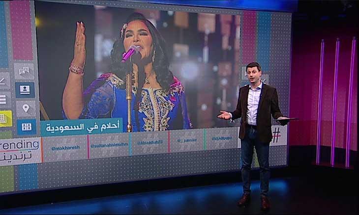 هجوم كبير لناشطين قطريين على المغنية الإماراتية أحلام