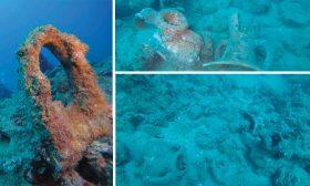 اكتشاف بقايا إحدى عشرة سفينة تعود للحقبة اليونانية في بحر مدينة صور اللبنانية
