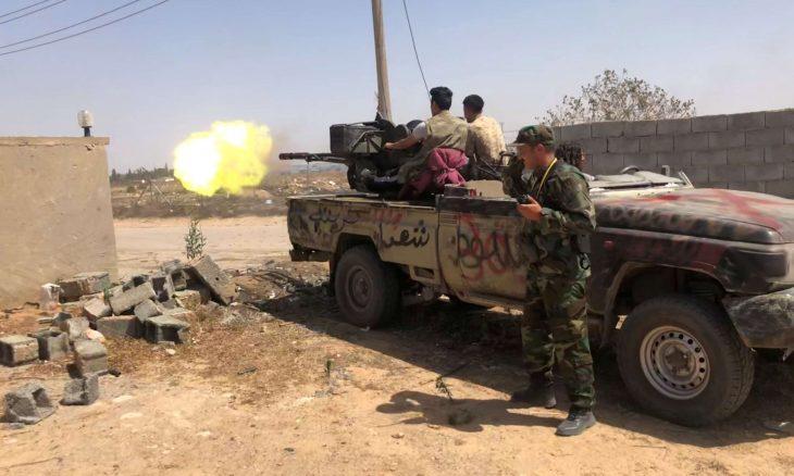 ليبيا.. اشتباكات عنيفة بين قوات الوفاق وحفتر جنوبي طرابلس