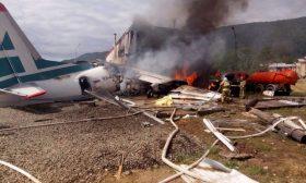مصرع شخصين وإصابة 22 خلال هبوط اضطراري لطائرة روسية