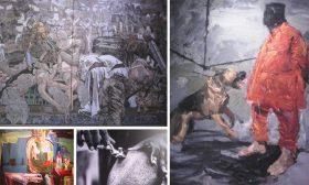 """الدورة الثالثة عشرة لبينالي القاهرة """"نحو الشرق"""":  عن قسوة العالم والفن الافريقي يكشف زيف الكثير من الأعمال"""