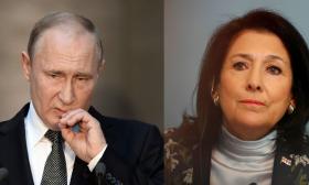 "روسيا تصف ""هجوما بذيئا"" على بوتين في تلفزيون جورجيا بأنه استفزاز سياسي"