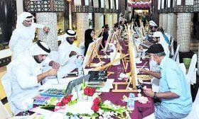 انطلاق فعاليات الفنون الجميلة في سوق واقف في الدوحة