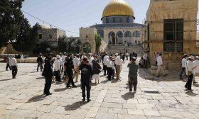عشرات المستوطنين الإسرائيليين يجددون اقتحاماتهم للمسجد الأقصى