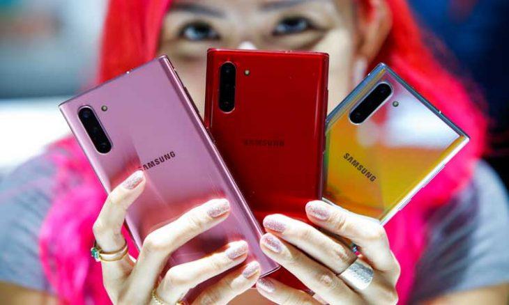 سامسونغ تكشف عن هاتفها الجديد نوت 10 بخصائص تتحدى هواوي- (صور) 8ipj-6-730x438
