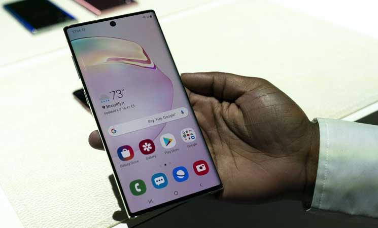 سامسونغ تكشف عن هاتفها الجديد نوت 10 بخصائص تتحدى هواوي- (صور) 9ipj-6