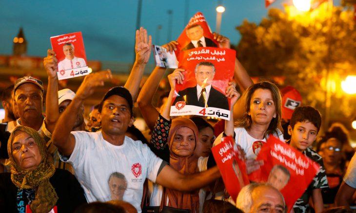 """مرشحان """"ضد النظام"""" يؤكدان انتقالهما للدورة الثانية من الانتخابات الرئاسية التونسية ـ (فيديو)"""