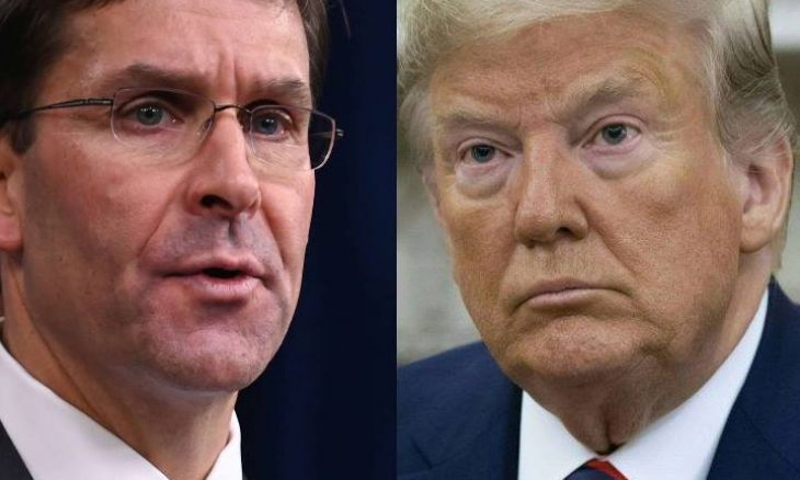 وزير الدفاع الأمريكي يتعهد بالتعاون في التحقيق لعزل ترامب ـ (فيديو)