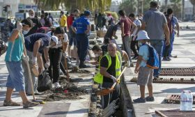 تونس.. حملة نظافة تطوعية توحد المواطنين