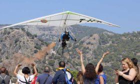 """ختام مهرجان """"أولو دينيز"""" التركي الدولي للألعاب الجوية"""