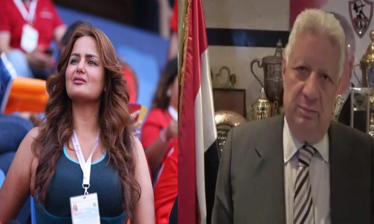 سما المصري تكشف عن تهديدها بالقتل من مرتضى منصور صورة القدس