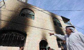 مستوطنون يضرمون النار بمسجد جنوب غرب القدس – (صور)