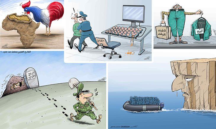 رسامو الكاريكاتير في المغرب يجددون الثقة في الدهدوه رئيسا لجمعيتهم