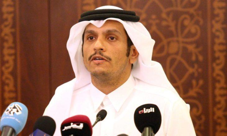 وزير خارجية قطر: سنظل متفائلين لحل الأزمة الخليجية