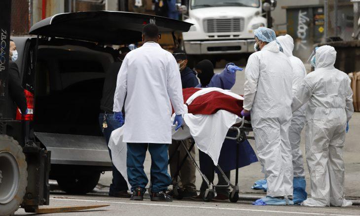 حصيلة وفيات كورونا في الولايات المتحدة تتخطى الحصيلة الرسمية لوفيات الفيروس في الصين