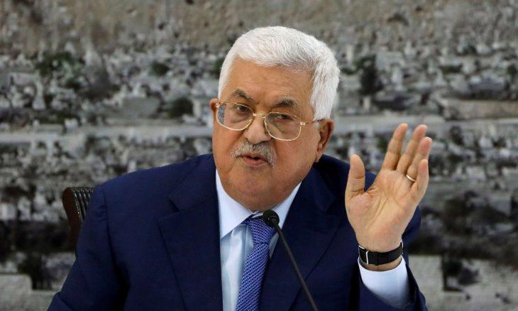عباس يعلن التحلل من جميع الاتفاقيات مع إسرائيل والولايات المتحدة