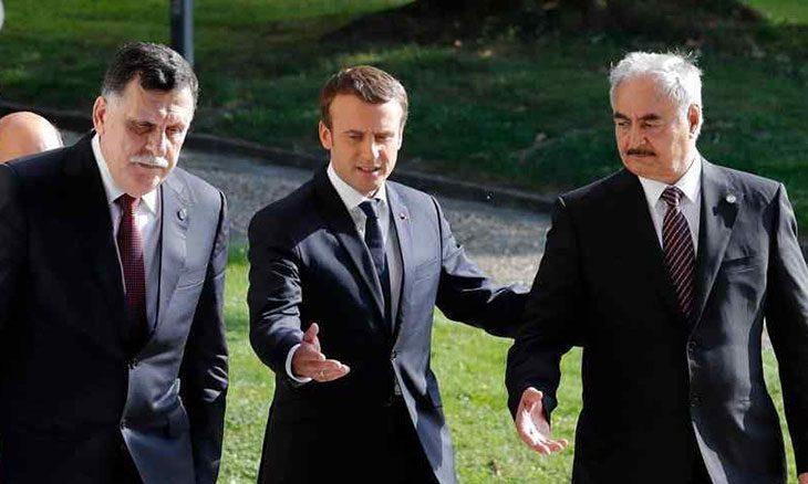 موقف باريس المضطرب في ليبيا يضعها في عزلة