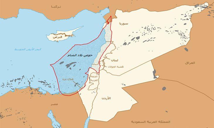 جغرافيا بلاد الشام القدس العربي