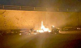 «العصائب» تطالب القضاء بإصدار أوامر قبض بحق ترامب بتهمة اغتيال أبو مهدي المهندس