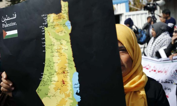 بين مشروعين وطني فلسطيني وصهيوني احتلالي
