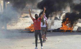 """المئات يتظاهرون في """"رمادة"""" جنوبي تونس احتجاجا على مقتل شاب"""