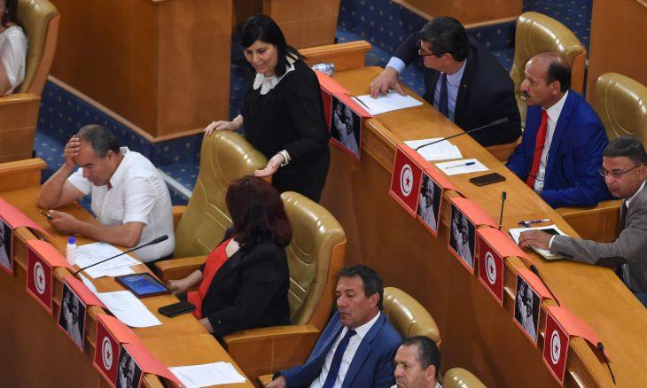 النهضة: عبير موسي تمهد الطريق لقوى خارجية للانقلاب على الدولة التونسية