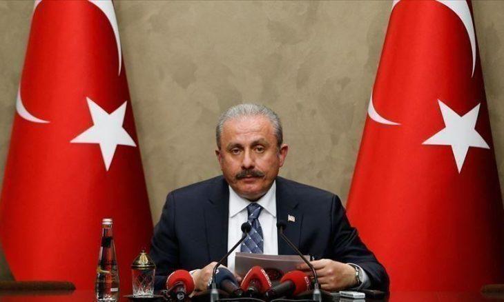 رئيس البرلمان التركي يرحب بتجديد البرلمان التونسي ثقته بالغنوشي