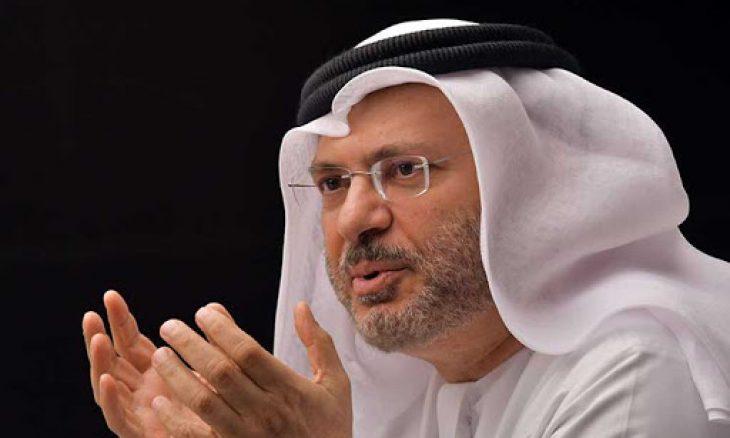 """هكذا رد قرقاش على توعد وزير الدفاع التركي بـ""""محاسبة"""" الإمارات ـ (فيديو وتغريدات)"""