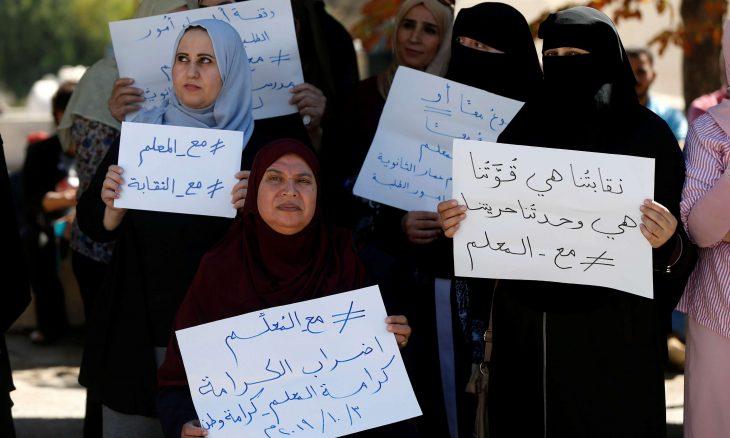 """""""ضربني على رأسي"""".. وشرطة نسائية في مواجهة سيناريو """"أخوات مسلمات"""".. اعتقالات تتوسع للمعلمين الأردنيين"""