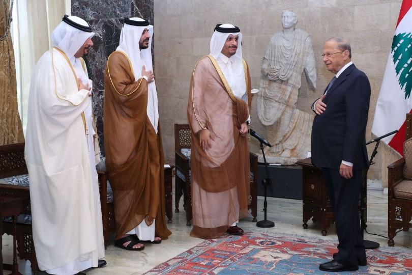 وزیر الخارجیه القطری یؤکد وقوف بلاده وأمیرها إلی جانب لبنان بعد الحدث الجلل  | القدس العربی
