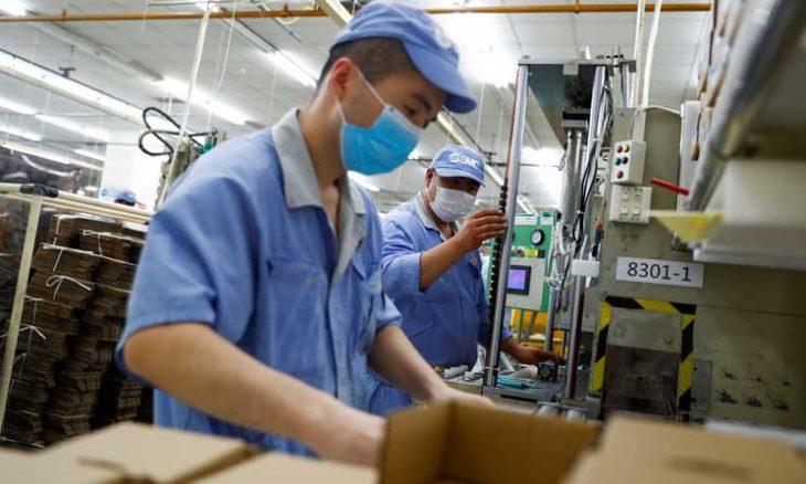 تحسن نشاط قطاع التصنيع في الصين خلال الشهر الماضي