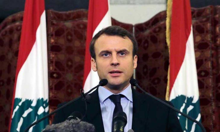 ماكرون من بيروت ويتفقّد الانفجار في المرفأ: لبنان ليس وحيداً- (فيديو)