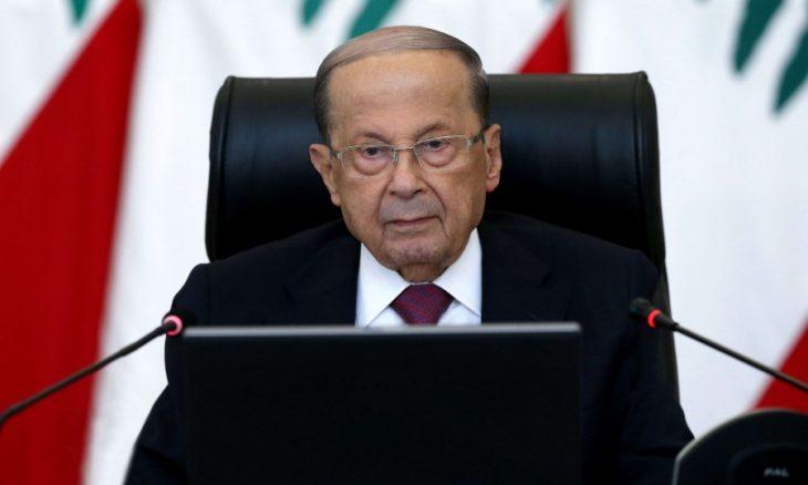 عون يرفض التحقيق الدولي في انفجار بيروت ويتحدث عن إهمال أو صاروخ أو قنبلة