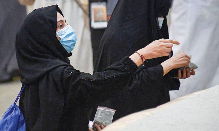 """المناسك المحدودة جدا في مكة تقدم """"لمحة"""" عن """"حج أخضر"""" ممكن في المستقبل"""