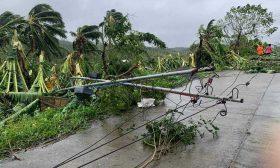 """الإعصار """"مولاف"""" يضرب الفلبين ويخلف قتيلين و12 مفقودا"""
