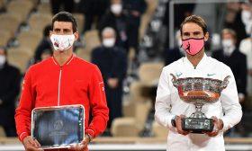 ديوكوفيتش في صدارة التصنيف العالمي للاعبي التنس ونادال الوصيف