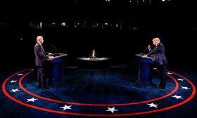 المناظرة الرئاسية الثانية بين ترامب وبايدن في صور