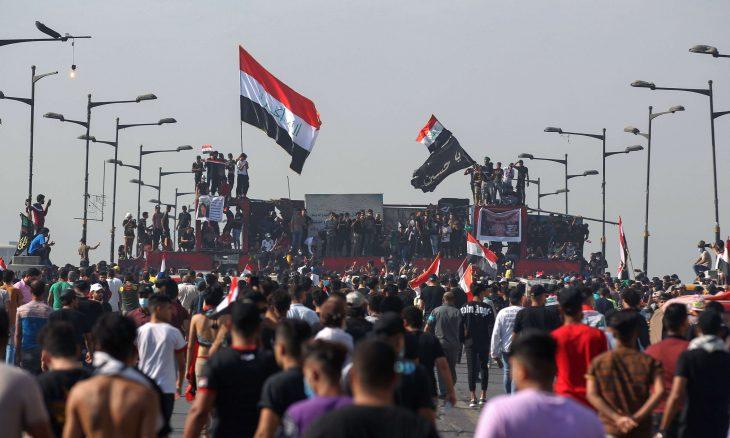 """احتجاجات """"ثورة أكتوبر"""" تعود إلى بغداد"""