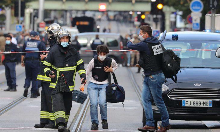 فرنسا: 3 قتلى في هجوم بسكين في مدينة نيس واعتقال المهاجم- (فيديو وصور)