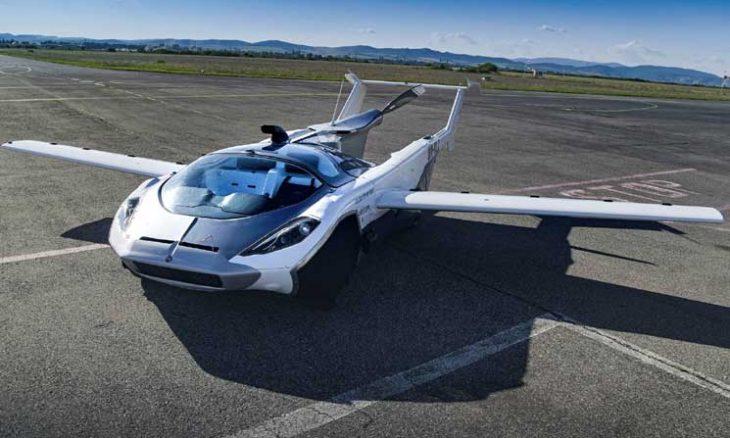 """سيارة مبتكرة تتحول إلى """"طائرة"""" تُطرح للبيع قريبا- (شاهد)"""