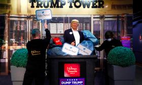 متحف الشمع في برلين يتخلص من تمثال ترامب قبل الانتخابات الأمريكية