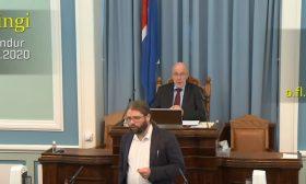 زلزال يقطع جلسة للبرلمان في أيسلندا- (شاهد)