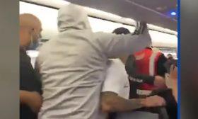 مشاجرة جماعية على متن طائرة في بورتوريكو