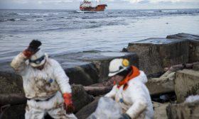 انفجار بناقلة نفط روسية في بحر آزوف
